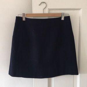 Wool miniskirt